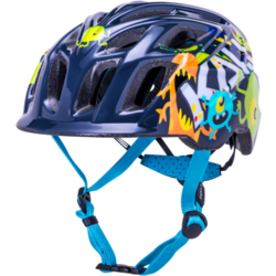 Kali Protectives Chakra Child Helmet Monsters Black Small