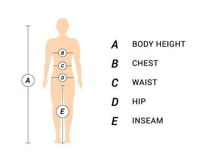 Maloja Size Chart