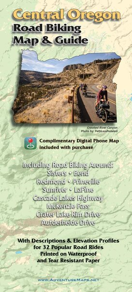 Adventure Maps Adventure Maps Location: Central Oregon Biking Map & Guide