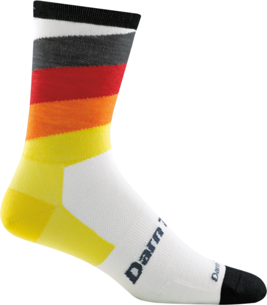 Darn Tough Stage Crew Ultra Light Sock - White