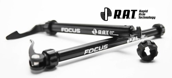 Focus R.A.T. EVO Through Axle, Front, 100x12mm