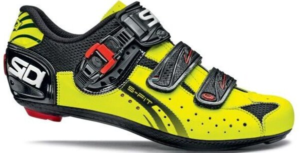 Sidi Genius Fit - Yellow Fluo