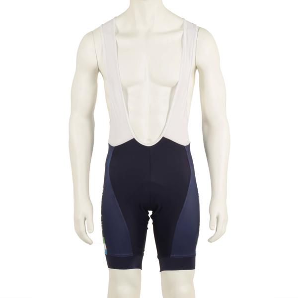 River City Bicycles Navy Stripe Castelli Bibshort