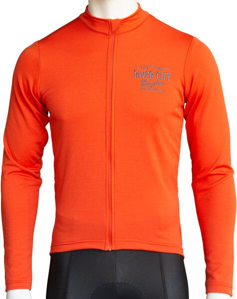 Anthm Collective RCB PDX Saltzman Wool LS Jersey - Orange
