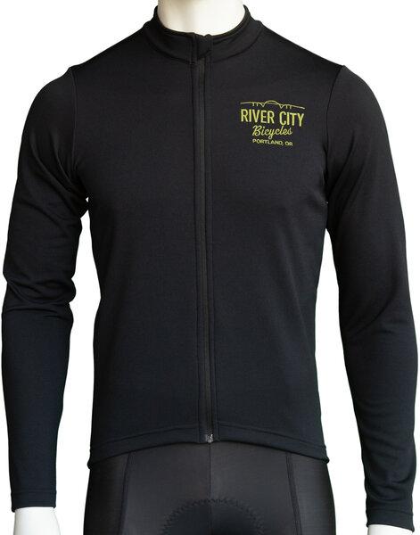 Anthm Collective RCB PDX Saltzman Wool LS Jersey - Black