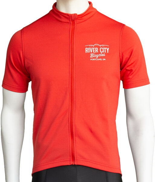 Anthm Collective RCB PDX Saltzman Wool SS Jersey - Red