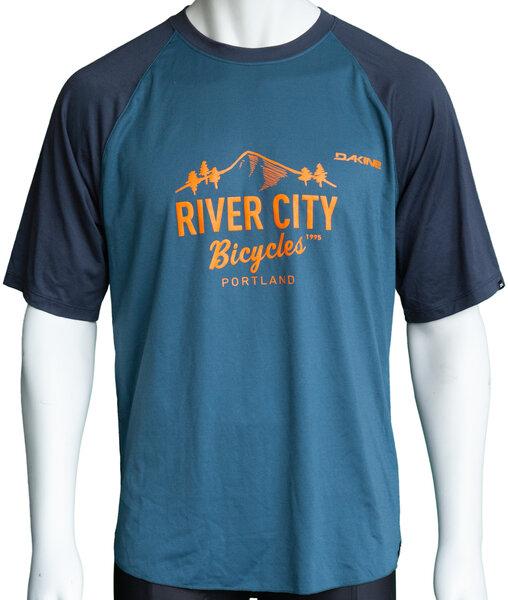 River City Bicycles Dakine Dropout SS Jersey - Slate Blue