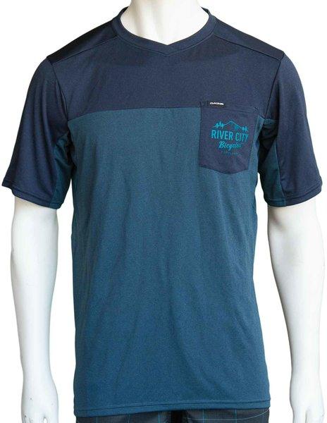 River City Bicycles Dakine Pocket MTB Jersey - Slate Blue