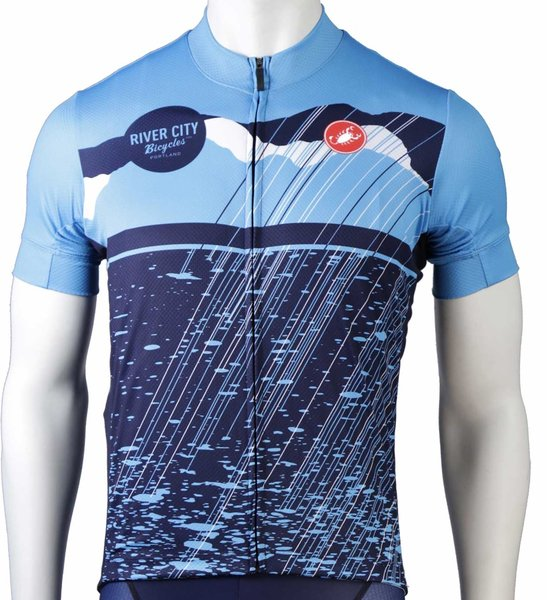 River City Bicycles Castelli Rainy Day Jersey