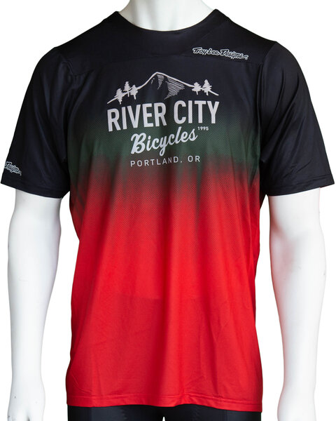River City Bicycles Troy Lee Designs Skyline MTB Jersey - Stain'd