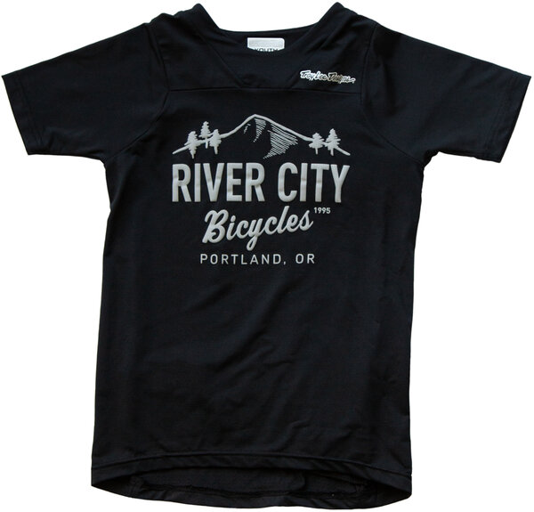 River City Bicycles Troy Lee Designs Sprint SS Youth Jersey - Black