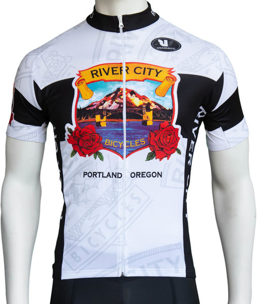 River City Bicycles RCB Heritage Jersey - White