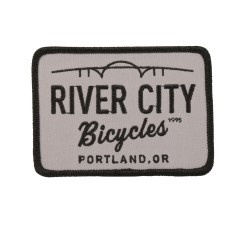 River City Bicycles RCB Bridge Logo Patch