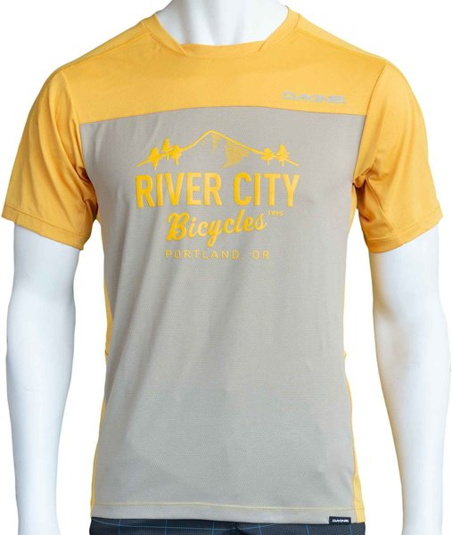 River City Bicycles Dakine Syncline MTB Jersey - Golden