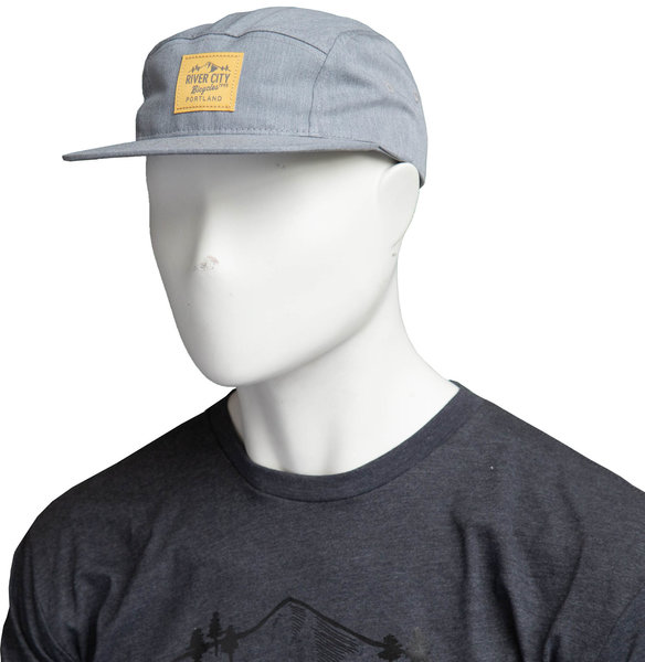 River City Bicycles Mountain Logo Woven Label Hat