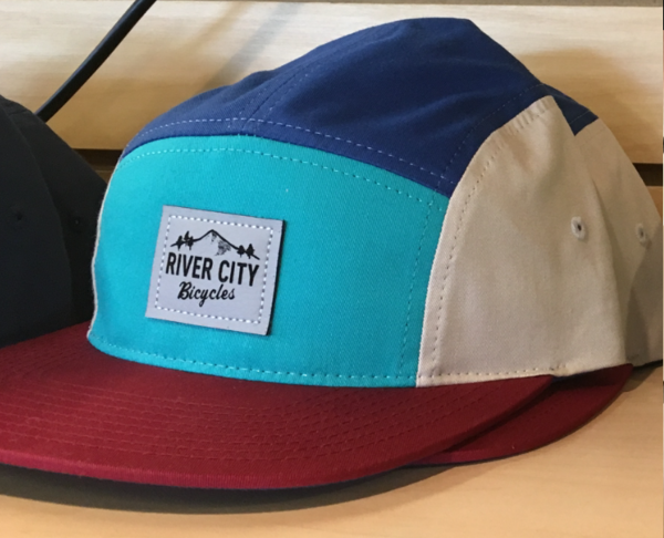 River City Bicycles Mountain Logo Patch Hat