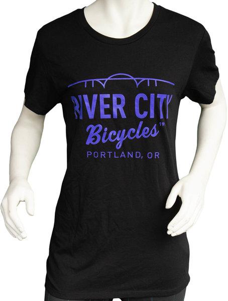 River City Bicycles Bridge Logo Women's Tee