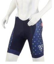 River City Bicycles Women's Navy PDX/RCB Triangle Castelli Bibshort