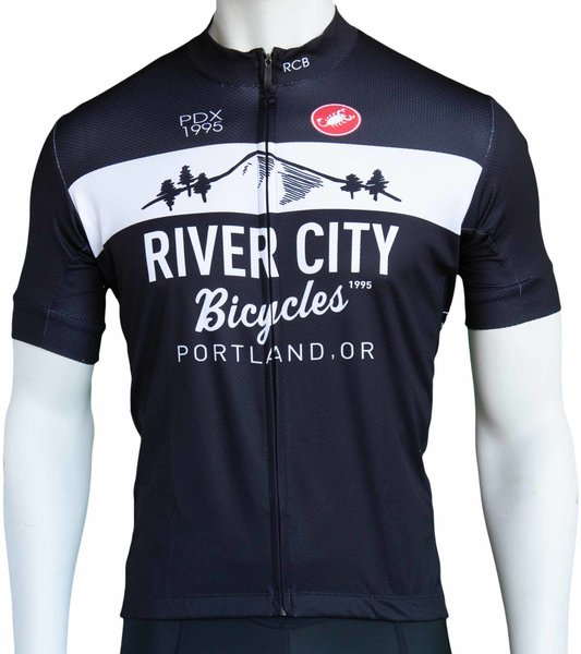 River City Bicycles Castelli Mountain Logo Jersey - Men's
