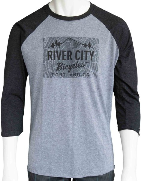 River City Bicycles Giro Tree Ring Logo Raglan Jersey