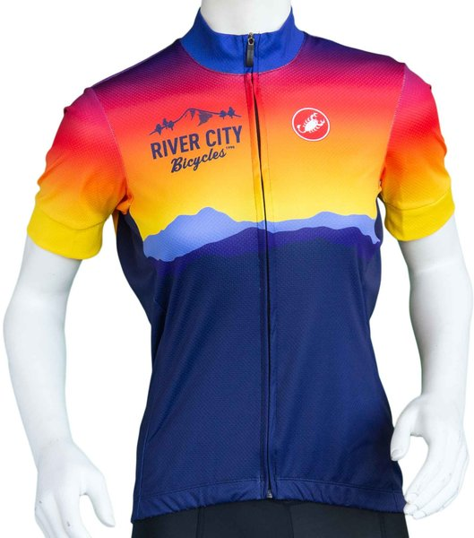 River City Bicycles Castelli Sunrise Jersey - Women's