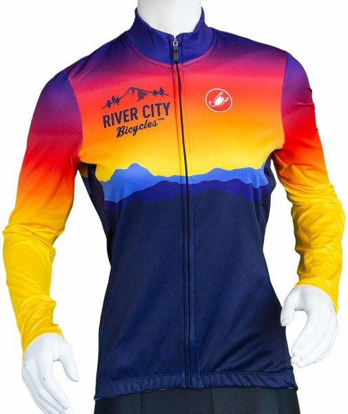 River City Bicycles Castelli Sunrise LS Jersey - Women's