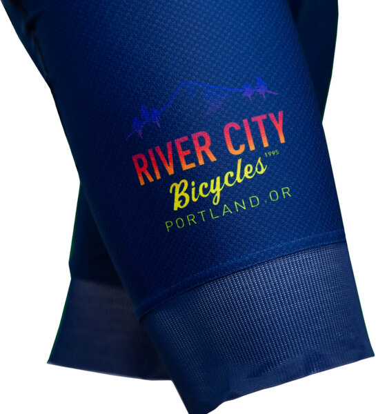 River City Bicycles Castelli RCB Sunrise Team Bib X2 - Women's