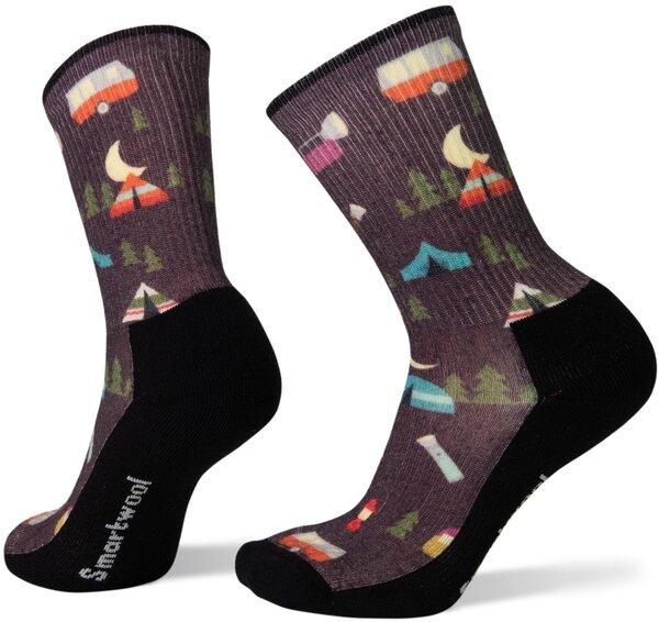 Smartwool Women's Hike Light Summer Nights Print Crew Socks