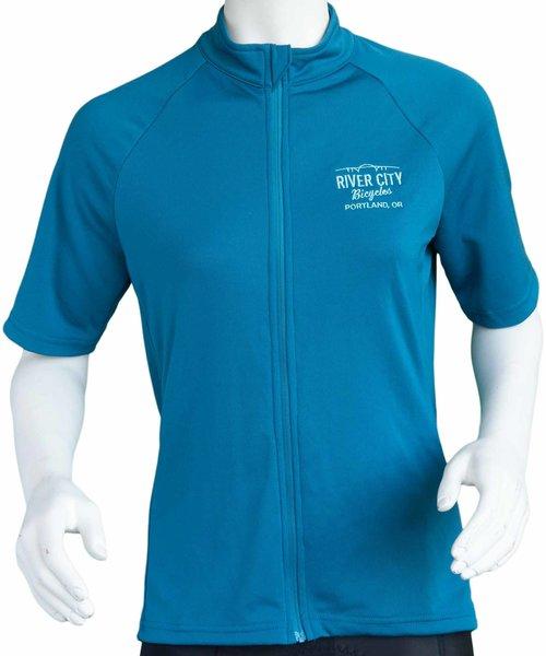 Anthm Collective PDX Saltzman Wool SS Women's Jersey - Blue