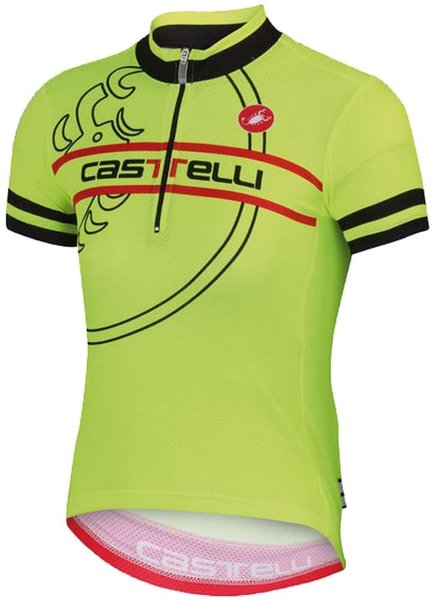 Castelli Segno Kids Jersey - Yellow