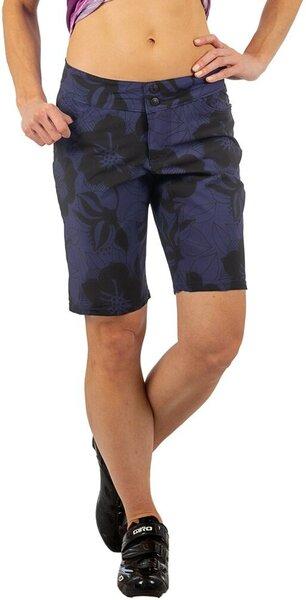 Shebeest Skinny Americano Short - Navy/Black Zinnia