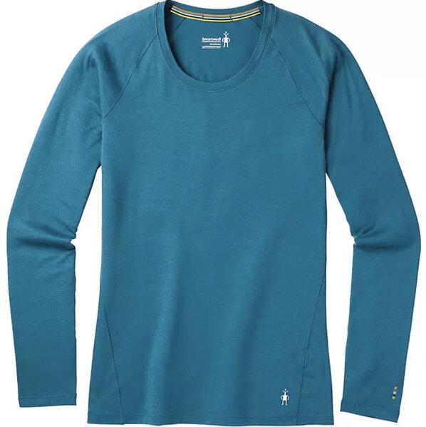 Smartwool Women's Merino 150 Long Sleeve Base Layer Top - Marlin Blue