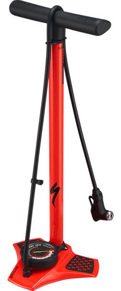 Specialized Air Tool Comp Floor Pump, Rocket Red