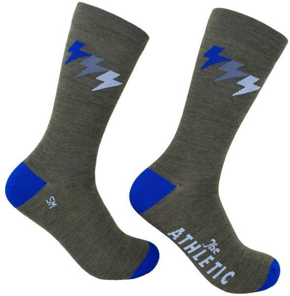 The Athletic Community Three Bolt Thin Wool Sock