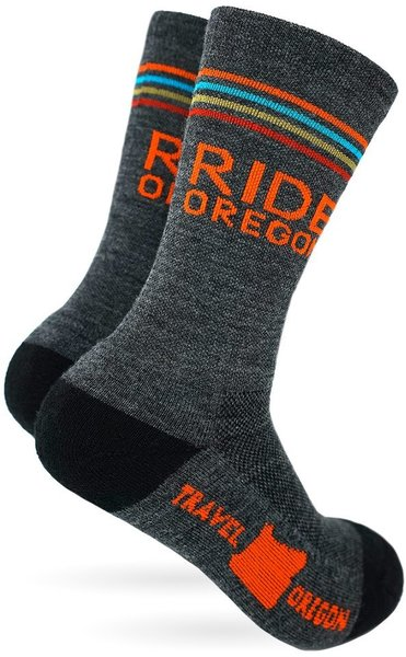 The Athletic Community Ride Oregon Midweight Wool Socks