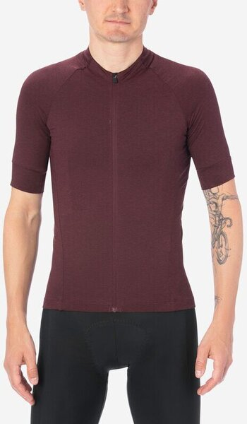 Giro New Road Men's Jersey - Ox Blood