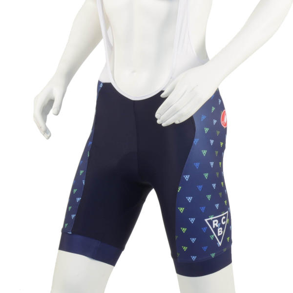 River City Bicycles Navy Triangle Castelli Women's Bibshort
