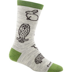 Darn Tough Woodland Creatures Crew Light Socks