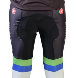 River City Bicycles Castelli Blue/Green/Black Bibshort