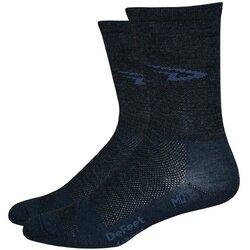DeFeet Wooleator 5'' D-Logo Socks