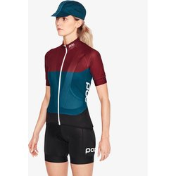 POC Essential Road Women's Light Jersey - Red/Draconis Blue