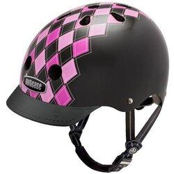 Nutcase Preppy Pink Street Sport Helmet