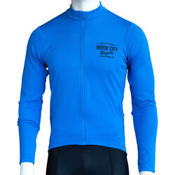 Anthm Collective RCB PDX Saltzman Wool LS Jersey - Blue