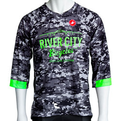 River City Bicycles Castelli Digi Camo MTB Jersey