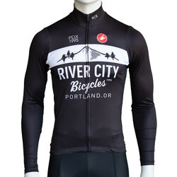 River City Bicycles Castelli Mountain Logo LS Jersey
