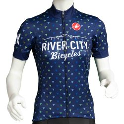 River City Bicycles Castelli Triangle Print Jersey - Women's