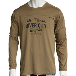 River City Bicycles Dakine Syncline MTB LS Jersey - Sandstorm