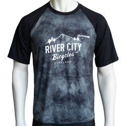 River City Bicycles Dakine Dropout SS Jersey - Black Haze