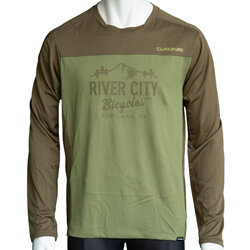 River City Bicycles Dakine Syncline LS Jersey - Olive