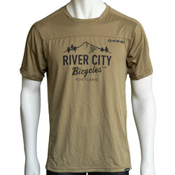 River City Bicycles Dakine Syncline MTB Jersey - Sandstorm